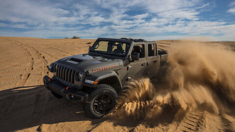Jeep Gladiator Mojave 2021 llega a México, para rodar fuera del camino a toda velocidad