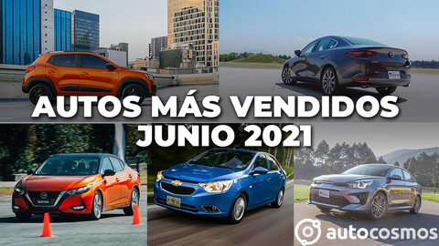 Los 10 autos más vendidos en junio 2021