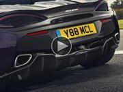 Video: Así ruge un McLaren 570S con el nuevo escape de titanio