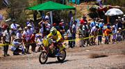 Daniel Gouet supera un nuevo desafío. Cuarta Etapa Dakar 2012