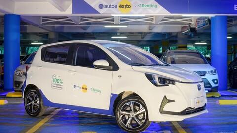 Llega Autos Éxito, nueva alternativa para la movilidad sostenible