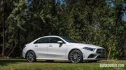 Primer contacto con el Mercedes-Benz Clase A sedán desde Chile