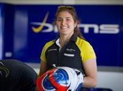 Tatiana Calderón, nueva piloto de pruebas de Alfa Romeo Sauber