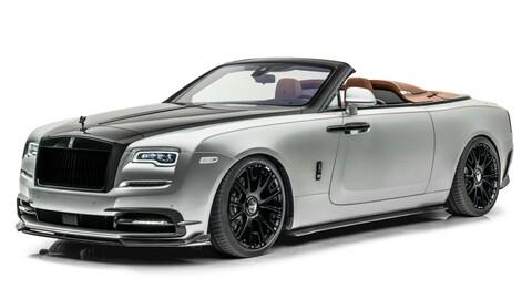 """Rolls-Royce Dawn """"Silver Bullet"""" por Mansory: un súper auto convertible con exceso de poder"""