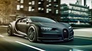 Bugatti Chiron Noire, exclusiva versión donde predomina la fibra de carbono