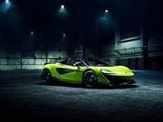 McLaren 600LT Spider, el quinto integrante