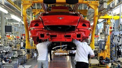 Bentley despedirá a una cuarta parte de sus empleados