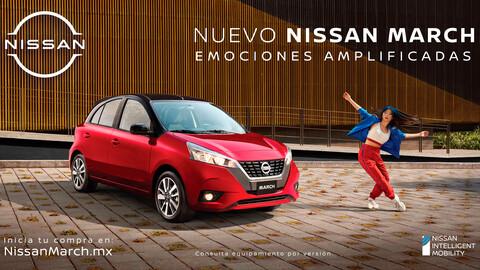 El nuevo pero no tan nuevo Nissan March 2021 ya ofrece preventa en México