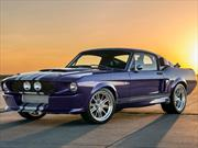 Blurple Shelby GT500CR por Classic Recreations, increíble