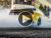 Dodge Challenger SRT Hellcat deja huella de sus 707 hp