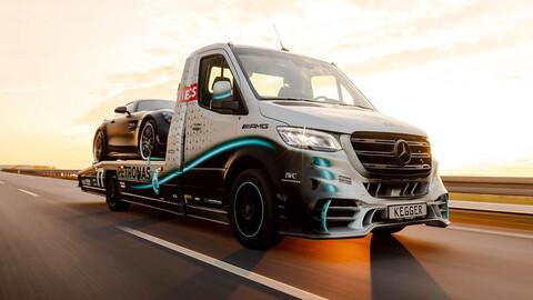 Sprinter V6 AMG Petronas una grúa digna de Lewis Hamilton