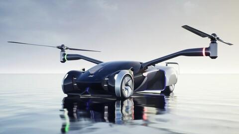 Este auto volador de XPeng hace realidad la ciencia ficción