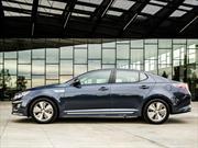 Kia Optima Hybrid 2016 ofrece un consumo combinado de 38 mpg