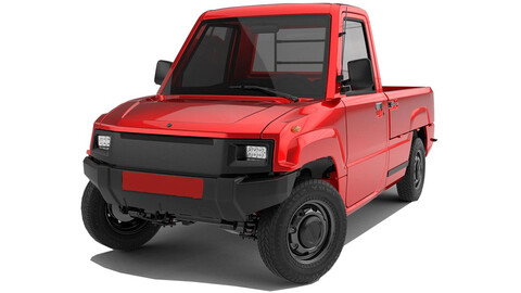 En Alibaba puedes comprar una camioneta eléctrica por cuatro mil dolares
