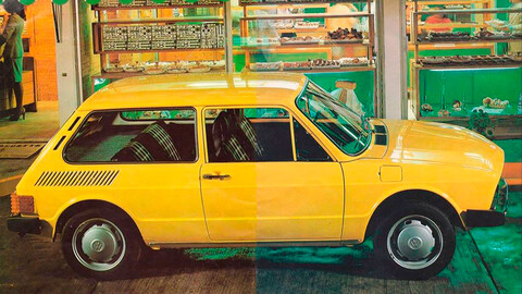 La historia del Volkswagen Brasilia, la versión hatchback del Beetle