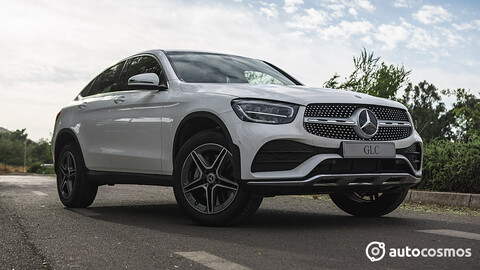 Probando el Mercedes-Benz GLC Coupe 2021