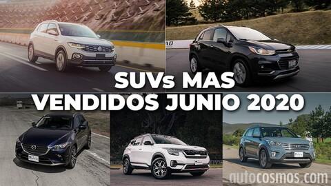Los 10 SUVs más vendidos en junio 2020