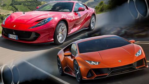 Ferrari y Lamborghini podrían seguir con motores a combustión más allá de las leyes europeas