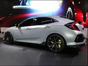 Honda Civic Hatchback Prototype, anticipando la próxima generación