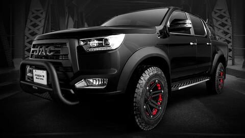 JAC México presenta Frison T8 Black Series 2020, la pickup que te une al lado oscuro