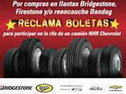 Ruede en una NHR con Bridgestone, Firestone o Bandag
