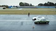 Tesla se queda atrás frente al Porsche Taycan