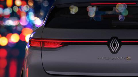 Renault adelanta imágenes del Megane eléctrico