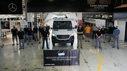 La nueva Sprinter ya se exporta a Estados Unidos
