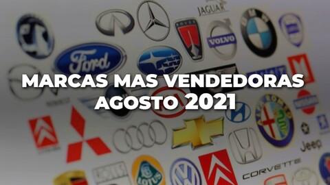 Marcas más vendidas en Colombia en agosto de 2021