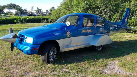 La Chevrolet Tracker que nació como SUV, pero se transformó en avión