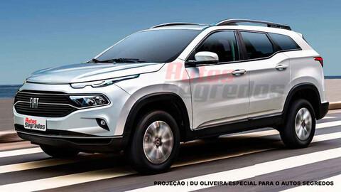 FIAT lanzará una SUV basada en la pickup Toro en 2022