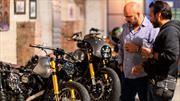 73 Vintage Moto Art: Una exposición que combina el arte y el motociclismo