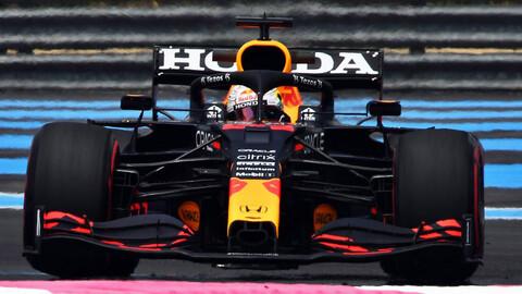 F1 2021: Max Verstappen empezó con el pie derecho en Francia