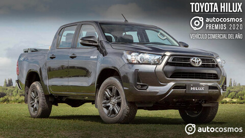 Premio Autocosmos Vehículo Comercial 2020: Toyota Hilux