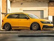 Este Volkswagen Tiguan no sólo es más llamativo, sino también más poderoso