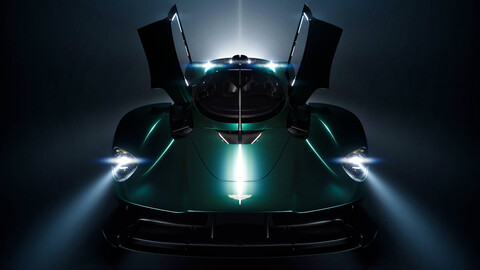 Aston Martin haría una versión roadster del Valkyrie