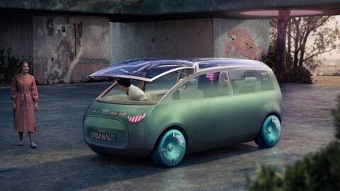MINI Vision Urbanaut, el futuro de la marca británica también será eléctrico y autónomo