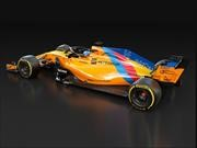 Buen mimo: McLaren le da a Fernando Alonso un monoplaza especial