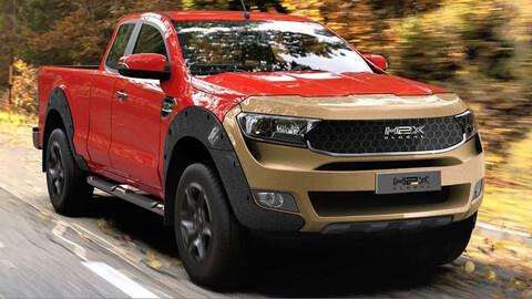 Mirá esta Ford Ranger a hidrógeno