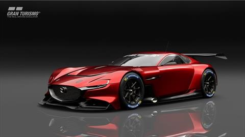 Disponible el Mazda RX-Vision GT3 Concept para PlayStation 4