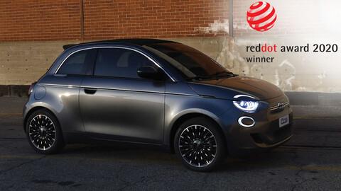 El nuevo FIAT 500 recibe premio por su diseño