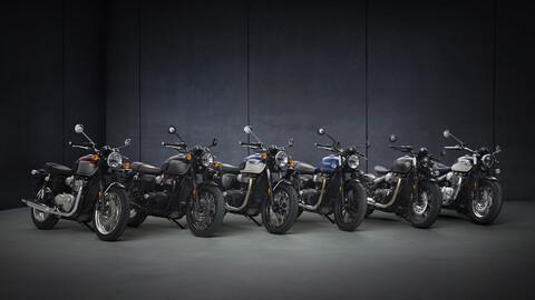 Triumph presenta novedades este 2021 para la familia Bonneville