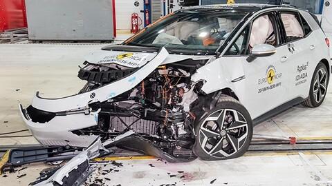 Volkswagen ID.3 supera las pruebas de Euro NCAP