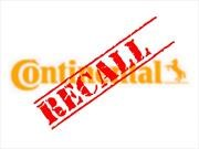 Continental hace recall para 14,000 neumáticos