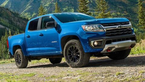 Chevrolet Colorado 2022 tendrá versión Trail Boss