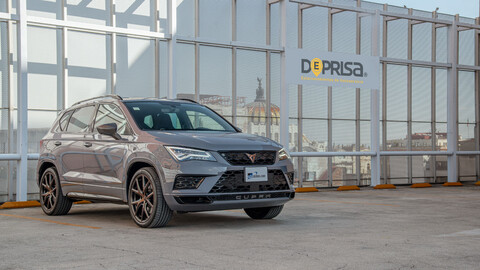 Manejamos el CUPRA Ateca Limited Edition 2020