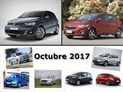 Los 10 autos más vendidos en Argentina en octubre de 2017