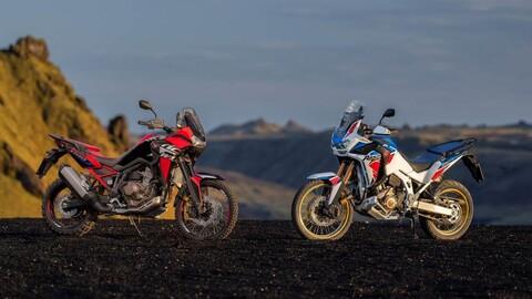 Honda perfecciona la Africa Twin para 2022