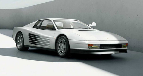 Restomod Esta Ferrari Testarossa quedó mejor que la de Miami Vice