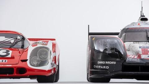 Porsche reúne al 917 y 919 el primero y el último de la marca en ganar las 24 Horas de Le Mans
